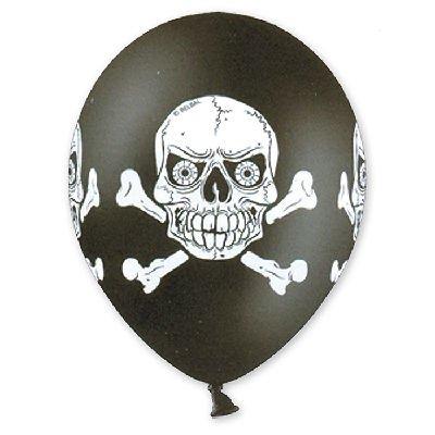 Арт.176 Воздушные шары с гелием  «Череп» 25 шт,  Belbal, Бельгия