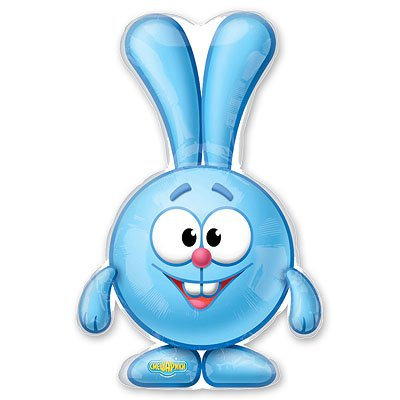 Арт.190 Фольгированный воздушный шар с гелием   «Смешарики», Anagram, США