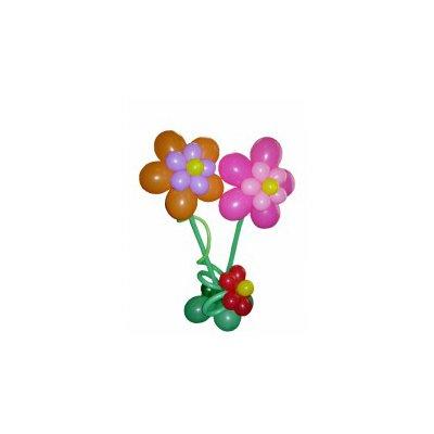 """Арт.008 Стоечка из воздушных шаров """"РОМАШКА"""" Гелиевая"""