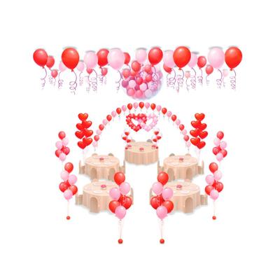 """Арт.007 Комплект воздушных шаров """"Свадебный"""" №4"""