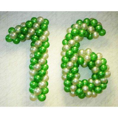 Арт.016 Цифры из шаров от 0 до 9