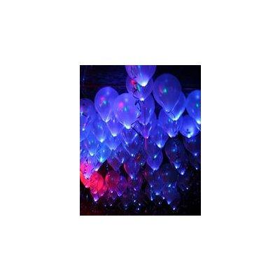 Арт.040 Светящиеся воздушные шары с гелием 25 шт.