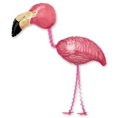 Арт.102 Шар ходячий Фламинго