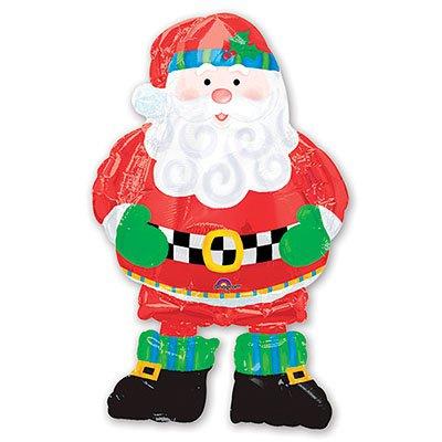 Арт.104 Шар ходячий Дедушка Мороз