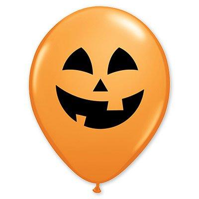 Арт.200 Воздушные шары «Улыбка тыквы» 25 шт, QUALATEX, США