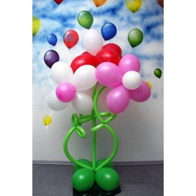 """Арт.009 Стоечка из воздушных шаров """"РОМАШКА"""""""