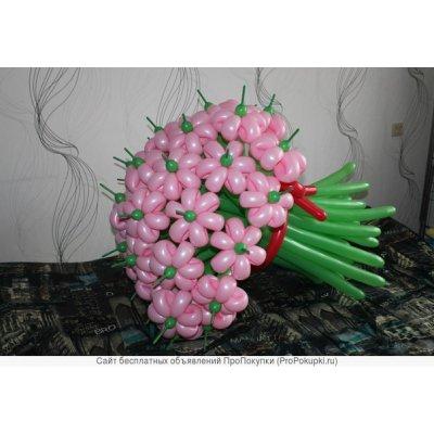 """Арт.011 Букет воздушных шаров """"ПОЛЕВОЙ"""""""