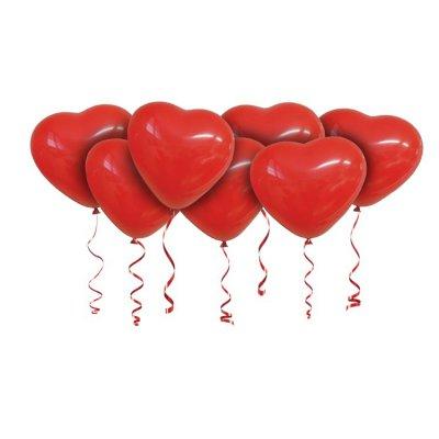 Арт.250 Воздушные шары «СЕРДЦА большие» 15 шт. Gemar