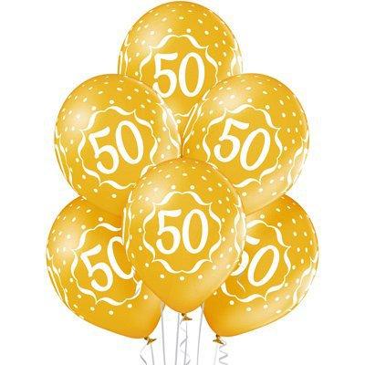 Арт.360 Шары на юбилей «50 лет», 25 шт.